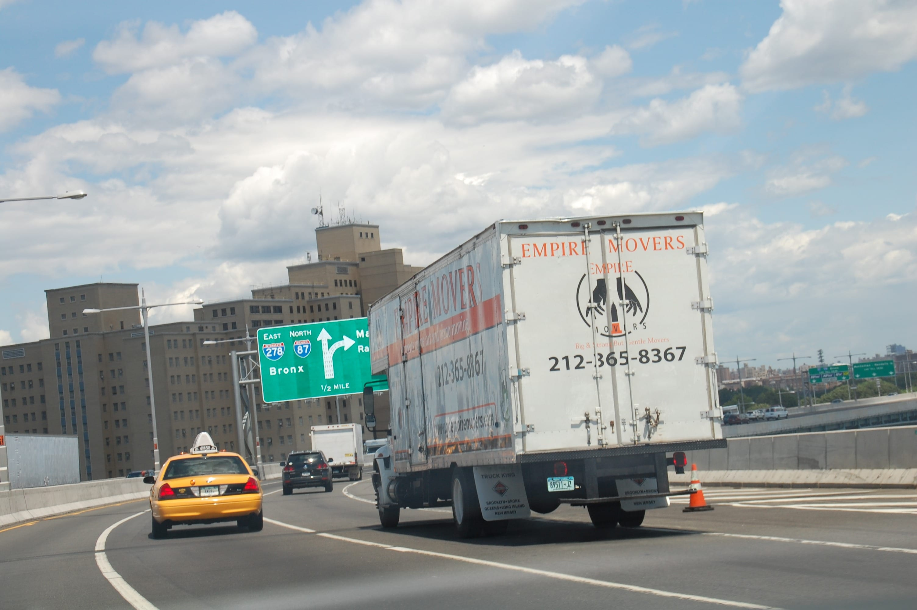 moving to new york Empire New York City Movers truck
